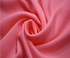 Polyester chiffon spandex fabric for china factory WCF-014