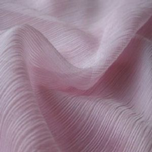 Polyester crinkle chiffon fabric WCD-048