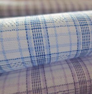 Polyester plaid yarn dyed fabric CWC-005