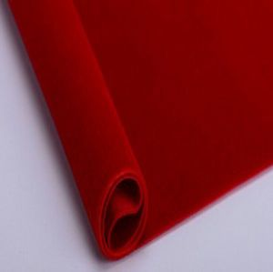 Polyester pongee fabric flocking HLF-029