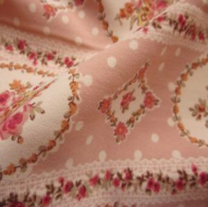 Polyester print wool peach fabric 140gsm MSF-012