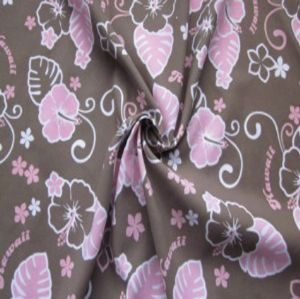 Polyester printed microfiber peach skin fabric HLF-022