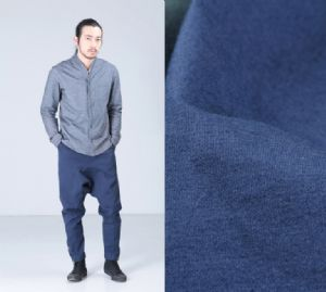 Polyester stretch denim fabric PF-006