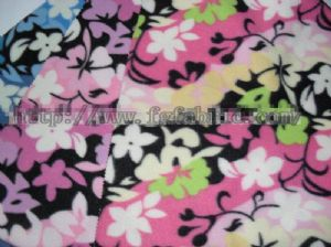 100% Polyester FDY Printed Polar Fleece Fabric for Blanket KFE-010