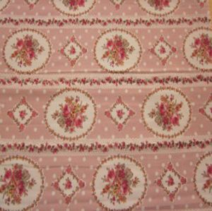 Printed wool peach fabric MSF-013