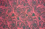 Rose Kntted Printed Spandex Swimsuit Fabric SSF-006
