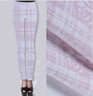 Rose printed trousering fabric PF-012