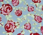 Rose printing swimwear Fabric SSF-036