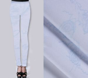 Roses printed leggings fabric PF-009