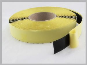 25MM Rubber PSA hd velcro Self Adhesive hook and loop tape roll For Computer Goods