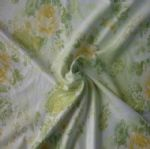 Smooth and Soft Yellow Swimwear Floral Printed Fabric SSF-014