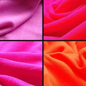 100% Polyester Anti-Pilling Solid Polar Fleece KFE-047