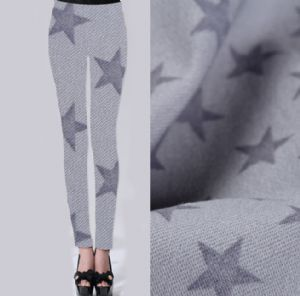 Star printed fabric for pants PF-037