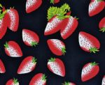 Strawberry Fruit Printed Fabric For Underwear FPF-004