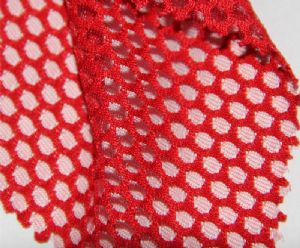 Strong mesh 100% polyester fabric for sportswear MF-068