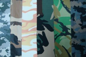 Taslon camo printed cloth JSJ-001