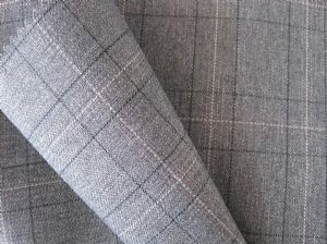 Three color plaid wool-like cloth MSF-023