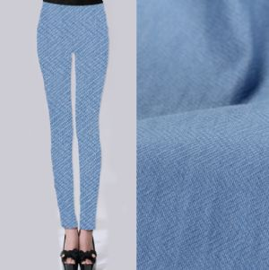 Twill jacquard leggings fabric PF-045