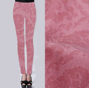 Wallpaper printed twill leggings fabric PF-066