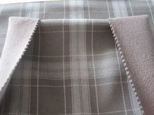 Wool-like plaid cloth  JCF-015