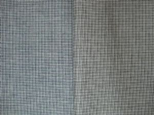 Wool-like plaid coating cloth MSF-020