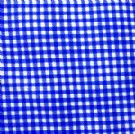 admiral blue gingham check underwear fabric PCF-006
