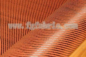 yellow Carbon fiber fabric|colored fiber fabric|carbon kevlar hybrid fiber cloth SCA-025