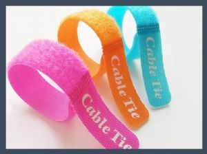 china manufacture straight stripe type hook and loop,colours