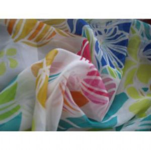 100% polyester chiffon fabric with pringting for Garment SF-037