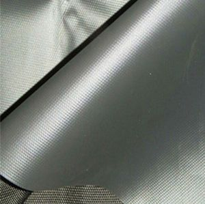 100 polyester microfiber fabric with silver coated OOF-141