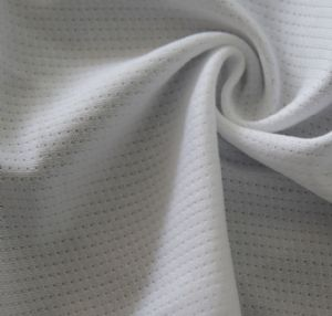 100% polyester needle eye fabric for out-door sports clothing MF-074