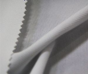 Cooldry 100% polyester pique mesh jersey fabric for shirt MF-082