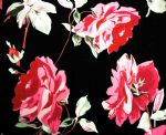 rose Printed lingerie fabric RPF-009