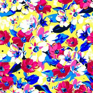 printed swimwear fabric NSF-057